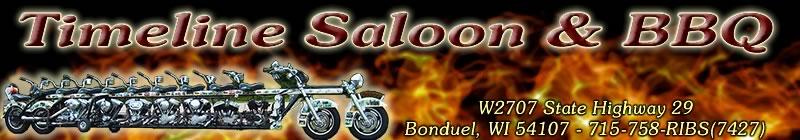 Timeline Saloon & BBQ - W2707 State Highway 29 Bonduel, WI 54107 - 715-758-7427
